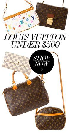 LOUIS VUITTON HANDBAGS UNDER $500