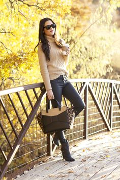 #autumn and that adorable kate spade bag!!!