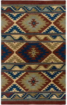 Rizzy Rugs Southwest SU2253 Red Rug $360