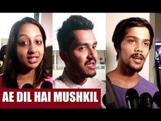 AE DIL HAI MUSHKIL public review | Ranbir Kapoor, Aishwarya Rai, Fawad Khan, Anushka Sharma. Anushka Sharma, Aishwarya Rai, Ranbir Kapoor, Bollywood News, Public, Film, Youtube, Movie, Movies