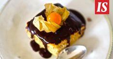 Siken suklaakakku on pääsiäispöydän kruunu Panna Cotta, Cheesecake, Pudding, Baking, Ethnic Recipes, Desserts, Food, Cheesecake Cake, Bread Making