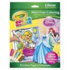 Crayola Color Wonder Glitter Paper and Disney Princess Markers