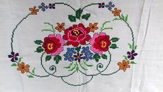 Items similar to Vintage Hand-Embroidered Tapestry on Etsy Simple Cross Stitch, Cross Stitch Rose, Cross Stitch Flowers, Cross Stitch Patterns, Prayer Rug, Bargello, Art Projects, Alphabet, Tapestry