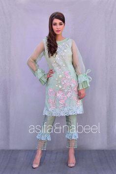 Asifa&Nabeel Pakistani Couture, Pakistani Bridal Dresses, Pakistani Dress Design, Pakistani Outfits, Indian Dresses, Indian Outfits, Indian Fashion Trends, Indian Designer Outfits, Designer Dresses