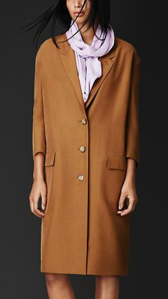 Burberry Prorsum Raw Silk Chesterfield I could never wear this. But...there's something about it I love.