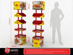 Point of Purchase. Floor Display.   Designed by Ivan @ P.O.P Specialist Sdn. Bhd. www.pop-specialist.com