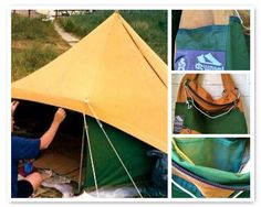 Wadd'ntas makes sturdy bags and more of re-used De Waard tents. This is a 'Eidereend' makeover