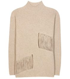 STELLA MCCARTNEY Distressed Cashmere And Wool Sweater. #stellamccartney #cloth #sweater