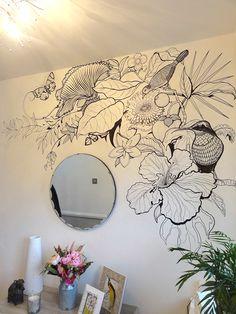 B+W Tropical Wall Art