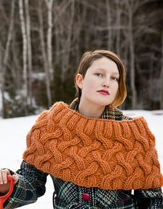 Ravelry: Aspen Cabled Shrug pattern by Carrie Bostick Hoge