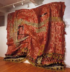 Flag for a New World Power - El Anatsui