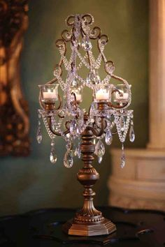 Opulent Treasures Candelabra
