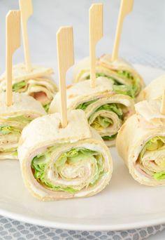 3 different wrap bites - 3x verjaardag wraps - Laura's Bakery