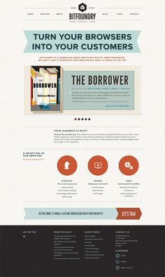 Nice web design, super clean and easy to navigate