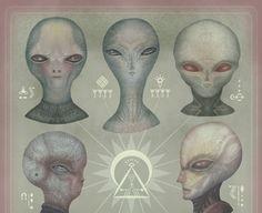 Extraterrestres - Espécies Exóticas Têm Vindo a Terra há Séculos e Andam Entre Nós