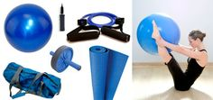 Deluxe Yoga and Pilates Home Workout Kit #yoga $39