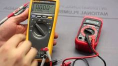 This video compares a 10 dollar to a 170 dollar multimeter and shows the average person how to use the voltage, current, resistance, . Home Electrical Wiring, Electrical Projects, Electrical Engineering, Mechanical Engineering, Diy Electronics, Electronics Projects, Cool Tech, Alternative Energy, Home Repair