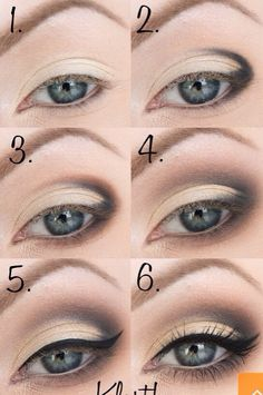 Daily make-up - Smoky Eye 😍 - My latest find at Trusper will b . - Daily Makeup – Smoky Eye 😍 – My latest find at Trusper will literally blow your mind. Seriously, you need to stick to your – Dark Eye Makeup, Hooded Eye Makeup, Makeup For Green Eyes, Natural Eye Makeup, Eye Makeup Tips, Smokey Eye Makeup, Beauty Makeup, Face Makeup, Makeup Goals