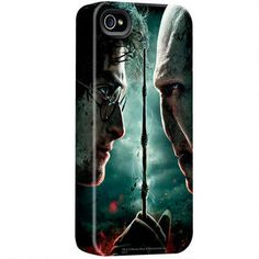 Harry Potter vs Voldemort iPhone Case