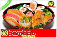 Happy set sushi, Spoznajte naozajstnú chuť sushi, ktoré vám pripraví ázijský sushi majster teraz so zľavou 48%! Reštaurácia Bamboo Expres vám ponúka Happy set sushi v hodnote 11,30 eur za fantastických 5,90 eur! Pozývame všetkých milovníkov sushi, aj tých, ktorí sa ešte len chystajú túto dobrotu ochutnať do príjemných priestorov reštaurácie v Prešove. Set Sushi, Ethnic Recipes, Food, Essen, Meals, Yemek, Eten