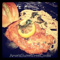 Ya, I Can Cook Too!: Chicken with a lemon & white wine sauce