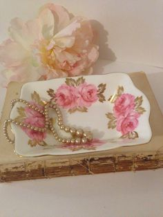 A personal favorite from my Etsy shop https://www.etsy.com/listing/509786721/shabby-chic-small-dish-royal-chelsea