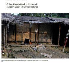 روسیه و چین ده سال است که از تصویب قطعنامه سازمان ملل در محکومیت خشونت علیه مسلمانان میانمار جلوگیری میکنند! آخرین بار این دو کشور  ماه پیش قطعنامه محکومیت میانمار را وتو کردند!  @DORRTV #روسيه #چين #ده #سال #تصويب #قطعنامه #سازمان #ملل #محكوميت #خشونت #عليه