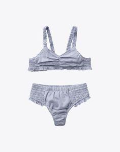 striped cotton swimwear $59