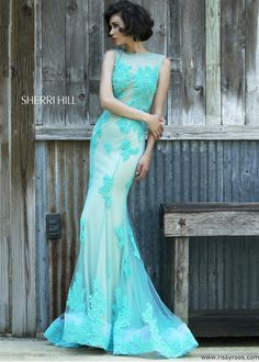 Sherri Hill 4325 Sexy Lace Evening Gown