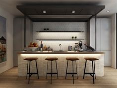 25 Examples Of Awesome Modern Kitchen Lighting