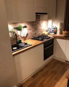 new kitchen cabinets Suprising White Kitchen Cabinet Design Ideas ~ Gorgeous House Kitchen Room Design, Kitchen Cabinet Design, Home Decor Kitchen, Interior Design Kitchen, New Kitchen, Home Kitchens, Kitchen Cabinets, Home Design, Kitchen Hacks