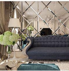 Salon w stylu Glamour | Styl Glamour - SALON | Pinterest | Glamour
