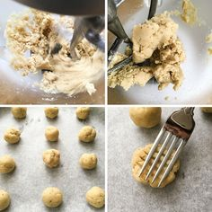 Almond Flour Shortbread Cookies - Flourish - King Arthur Flour: These almond flour shortbread cookies are one of the easiest recipes you could ever make. Just 5 ingredients, one bowl and less than 10 minutes to bake. Sugarless Cookies, Almond Flour Cookies, Almond Flour Recipes, Keto Cookies, Shortbread Cookies, Cookies Et Biscuits, Brownie Cookies, Low Carb Sweets, Low Carb Desserts