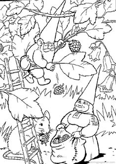 Gnome Printable   David the Gnome Coloring Pages 12 - Free Printable Coloring Pages ...
