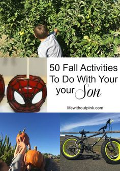 50 Fall Activities To Do With Your Son