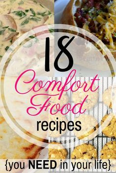 When winter and cold weather arrive I am always ready to eat some comfort food. In this post you'll find 18 easy recipes you can add to your kitchen this winter!