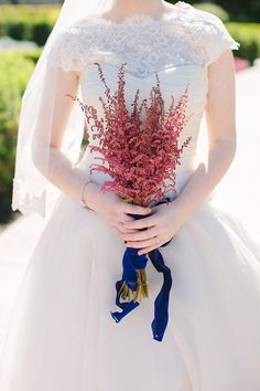 nontraditional wedding bouquet by Taylormade Floral and Event Decor