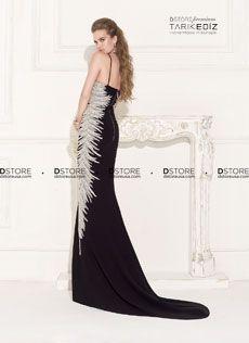 Vestido de Festa Longo Em Crepe Com Pedraria MARILYN 92482