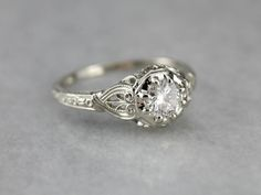 The Forrester Diamond Engagement Ring by Elizabeth Henry