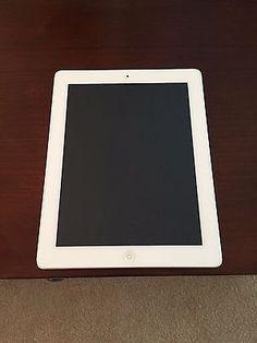 Excellent Condition - Apple iPad 2 32GB Wi-Fi   3G (Verizon) 9.7in - White