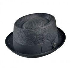 Bigalli Panama Stingy Brim Pork Pie Hat