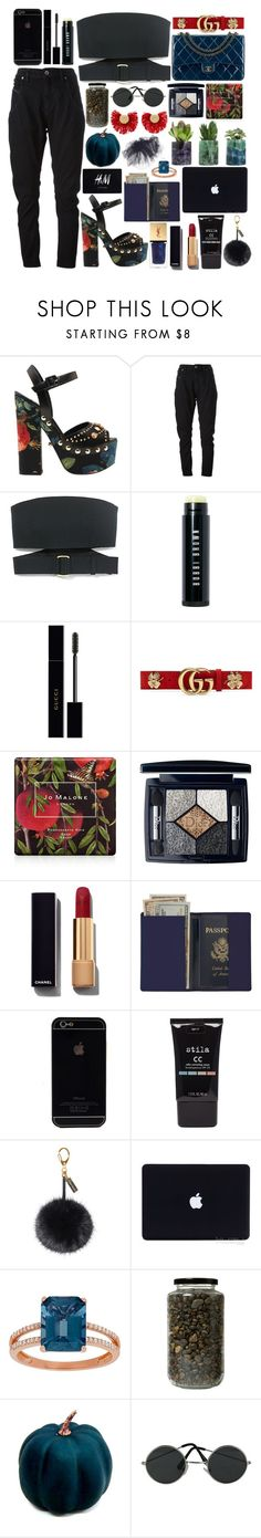 """#PolyPresents: Statement Shoes"" by dzchocolatess ❤ liked on Polyvore featuring FAUSTO PUGLISI, Diesel Black Gold, Calvin Klein Collection, Bobbi Brown Cosmetics, Chanel, Gucci, Jo Malone, Christian Dior, Royce Leather and Stila"