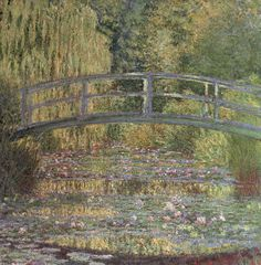 The Water Lily Pond-Monet