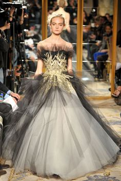 Can someone throw a ball or something?  I want this!  Marchesa