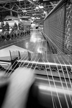 spinning and preparation for weaving at our plant  www.gabelgroup.com