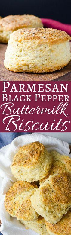 parmesan black pepper buttermilk biscuits parmesan black pepper ...