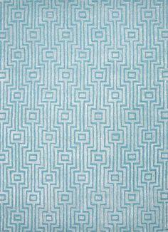 Jaipur Rugs City Blue Geometric Rug