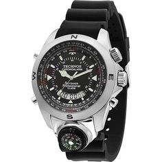 Americanas Relógio Masculino Technos Anadigi Casual T20571/8P - R$202,42
