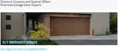 Get special offers and discount coupons on garage door products and services by Riverside Garage Door Experts throughout the year  #garagedoorrepair #gaargedoorinstallation #garagedooropener  http://www.riversidegaragedoorexperts.com/special-offers.html