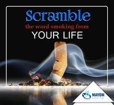Eradicate it before it screws up your Smoking Kills, Screwed Up, Words, Movie Posters, Life, Film Poster, Billboard, Horse, Film Posters